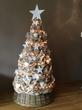 Jute kerstboom 140