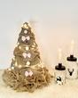 Jute kerstboom 56 cm