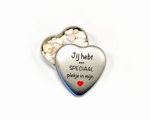 Snoepblikje | Valentijn cadeau