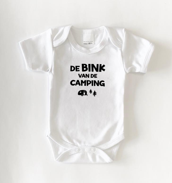 Romper 'De bink van de camping'