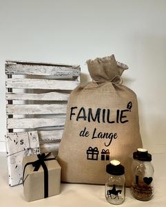 Sinterklaas decoratie | Jute Sinterklaas zak