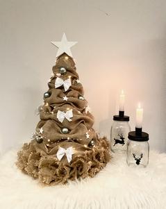 Jute kerstboom 55 cm