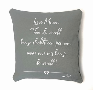 Kussenhoes Lieve Mama