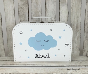 Kinderkoffertje met naam