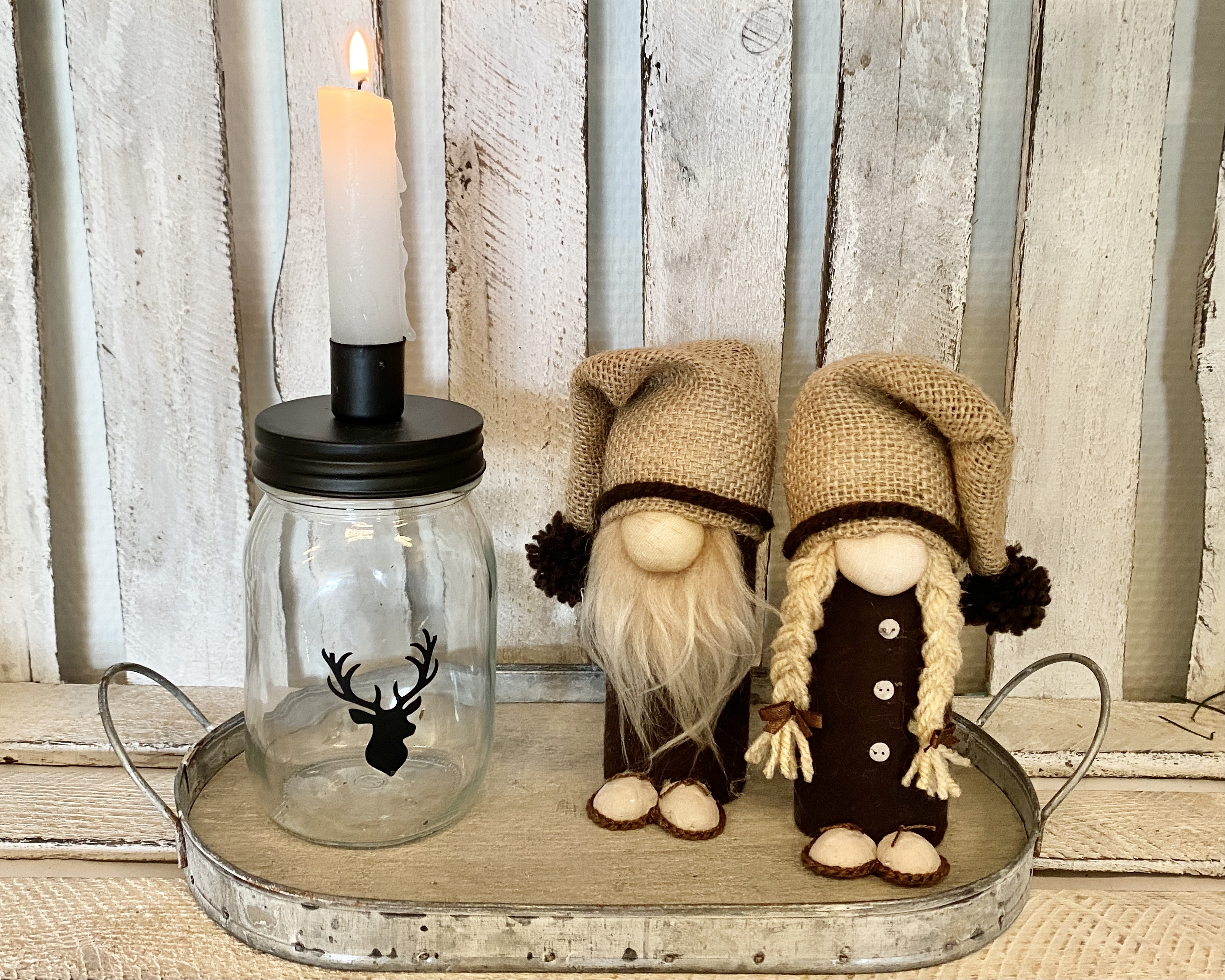 2 kerstkabouters (set)