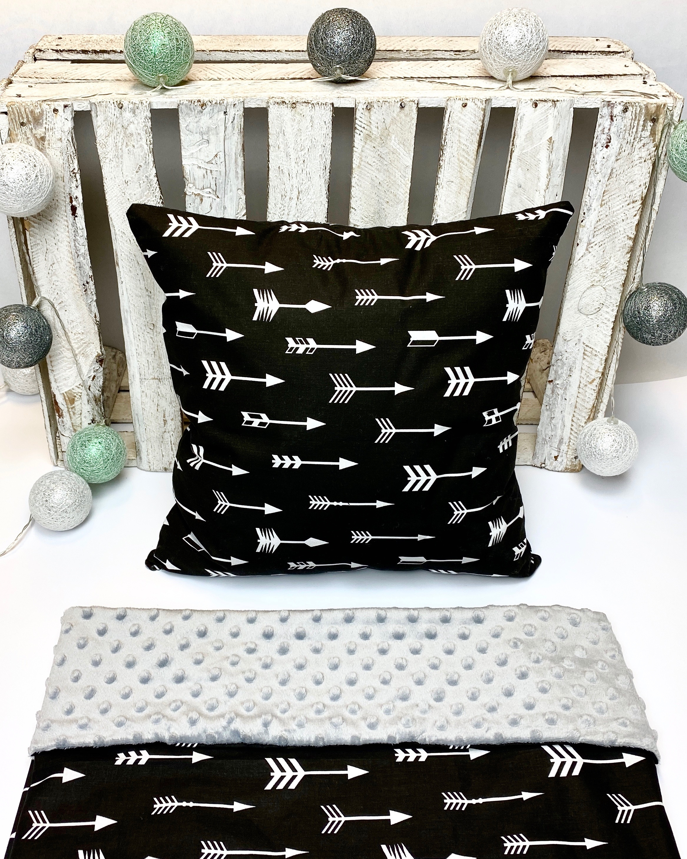 Babykamer aankleding set | grijs/zwart