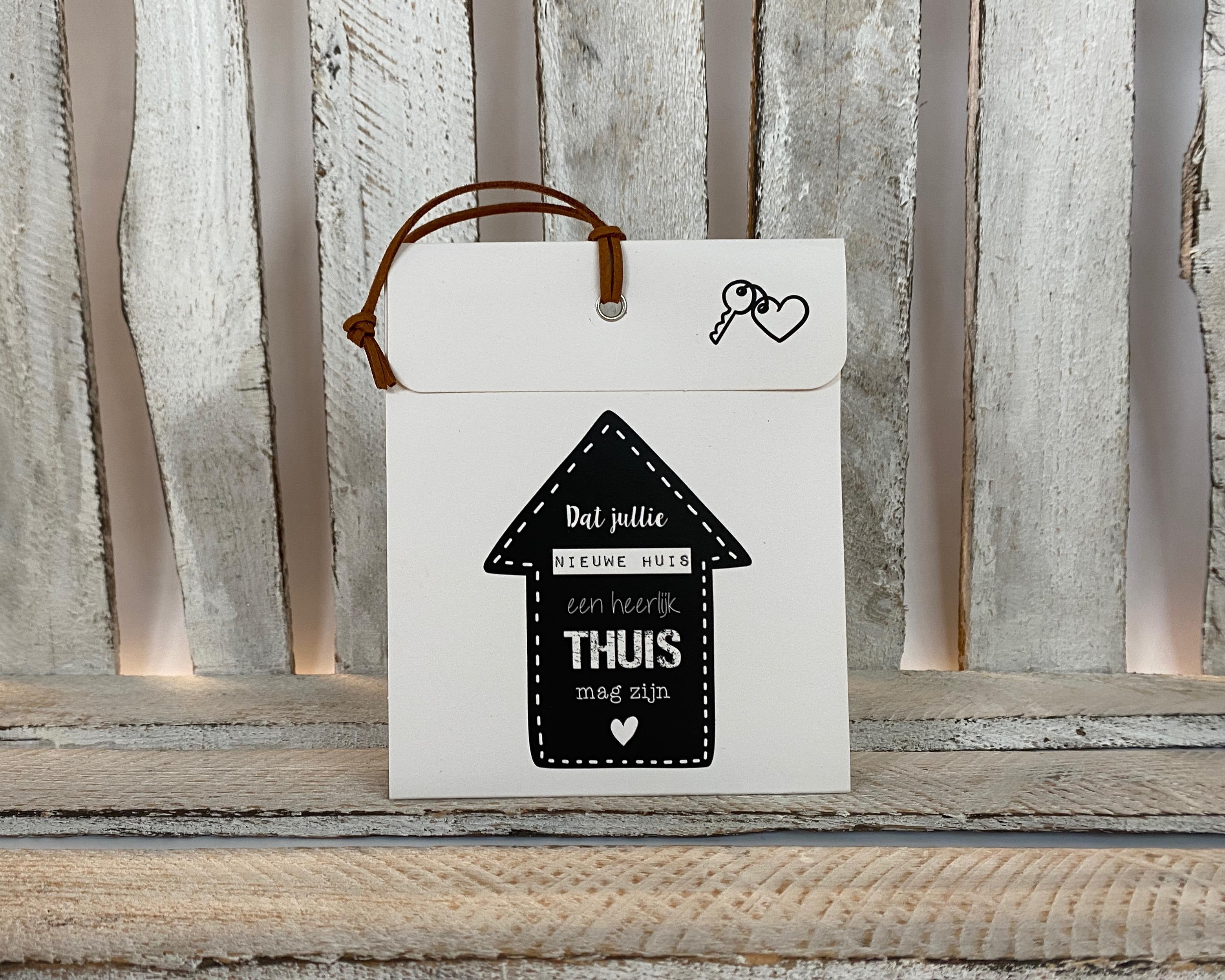 Geurzakje - nieuw huis   Housewarming cadeau