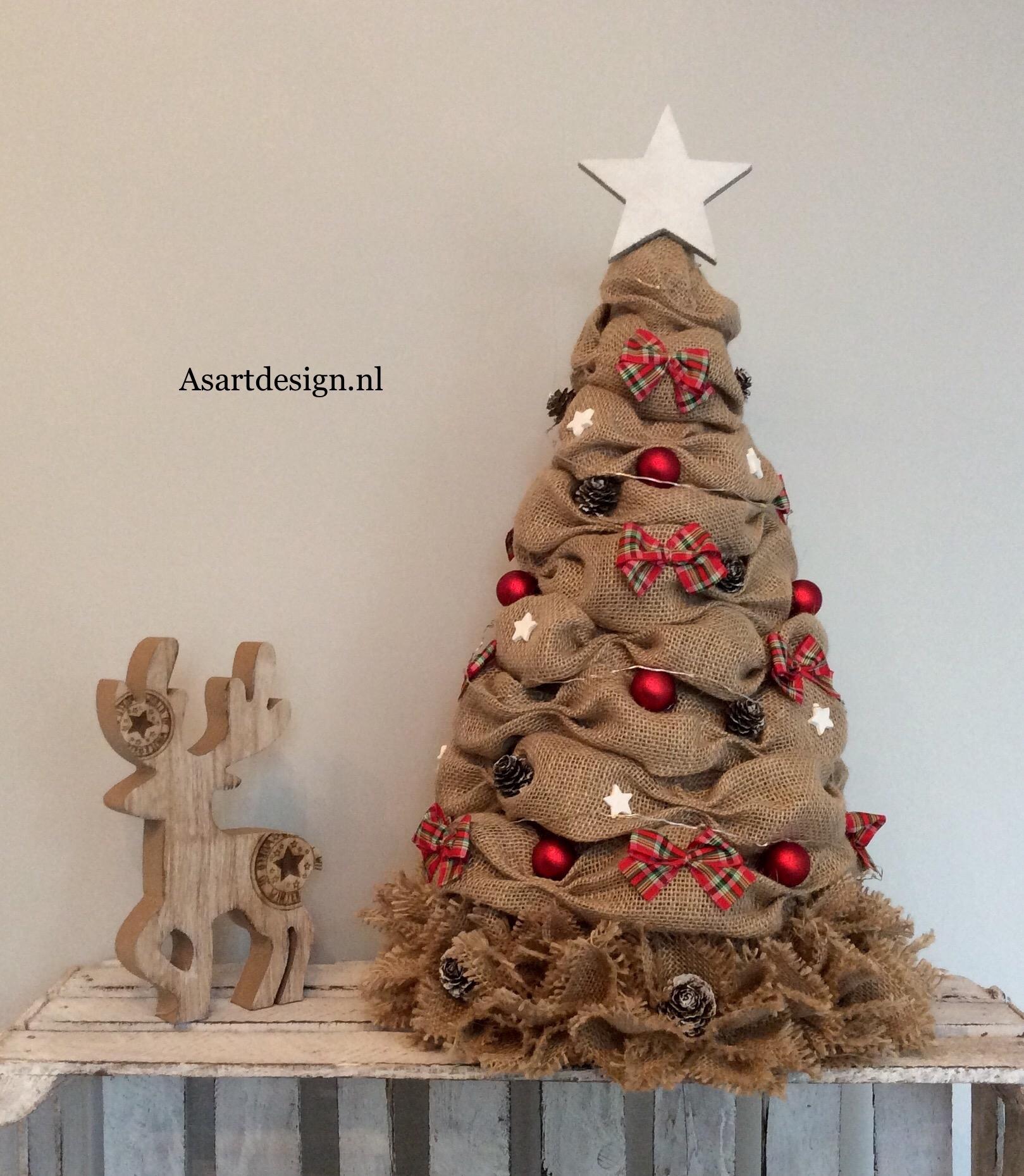 Jute kerstboom 55cm