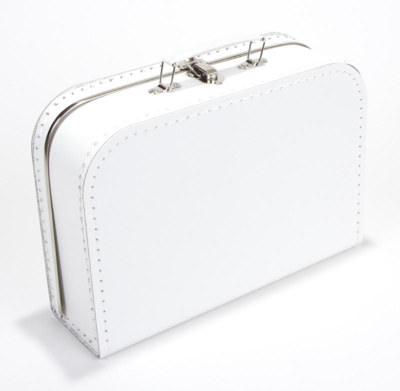 Kinderkoffertje wit