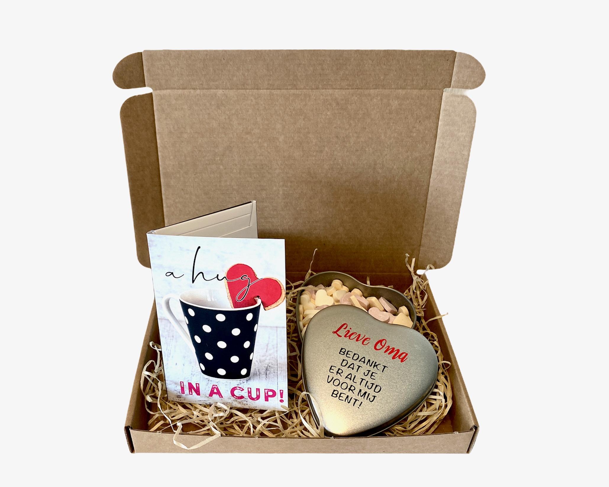 Mama / Oma brievenbuspakketje | Moederdag cadeau