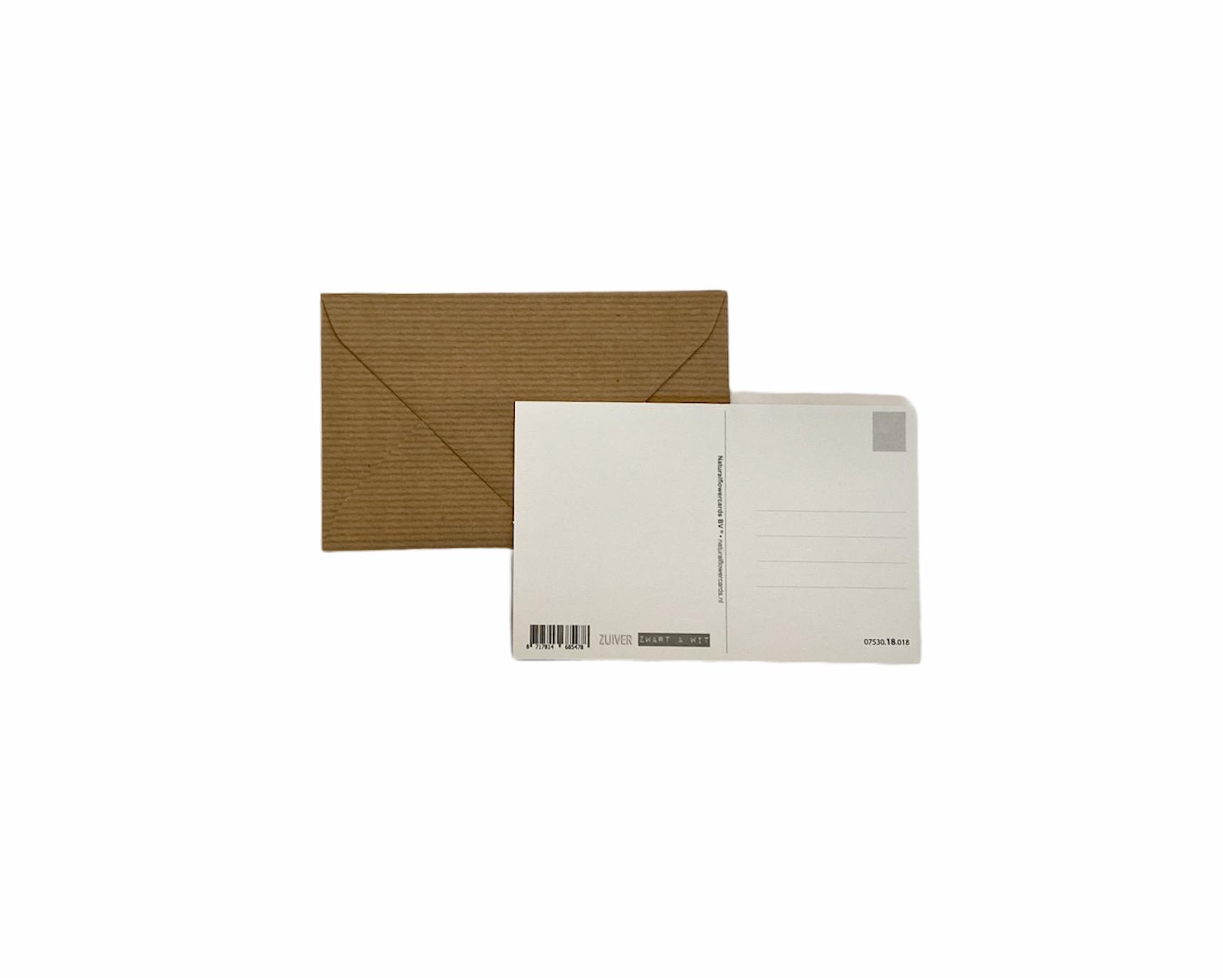 Postkaart- nieuwe woning
