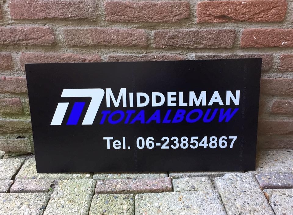 Reclameborden stickers