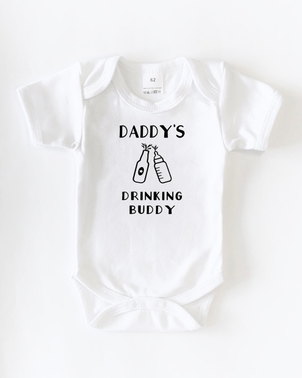 "Romper ""Daddy's drinking buddy"""