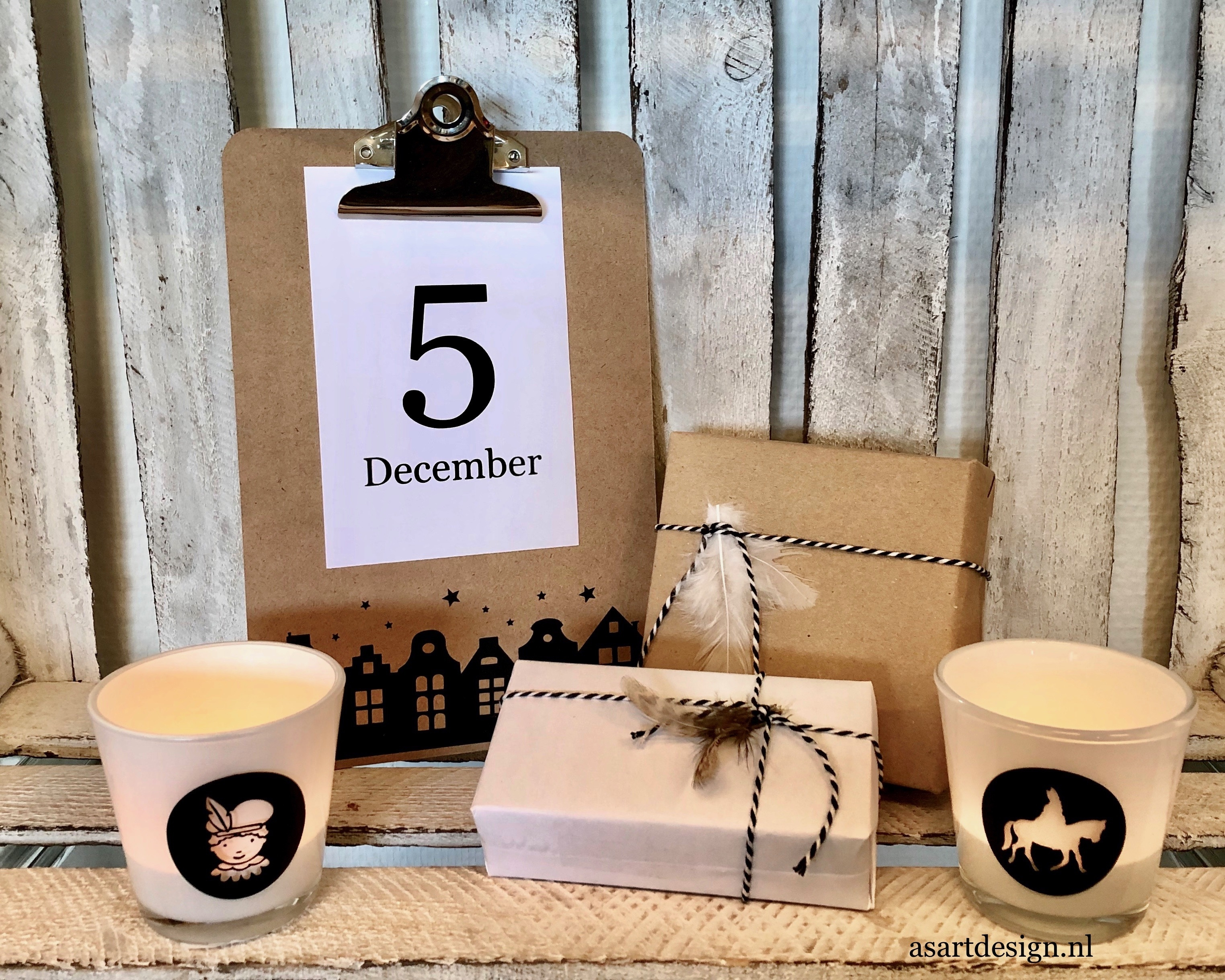 Sinterklaas decoratie | Klembord A5 zonder kaart