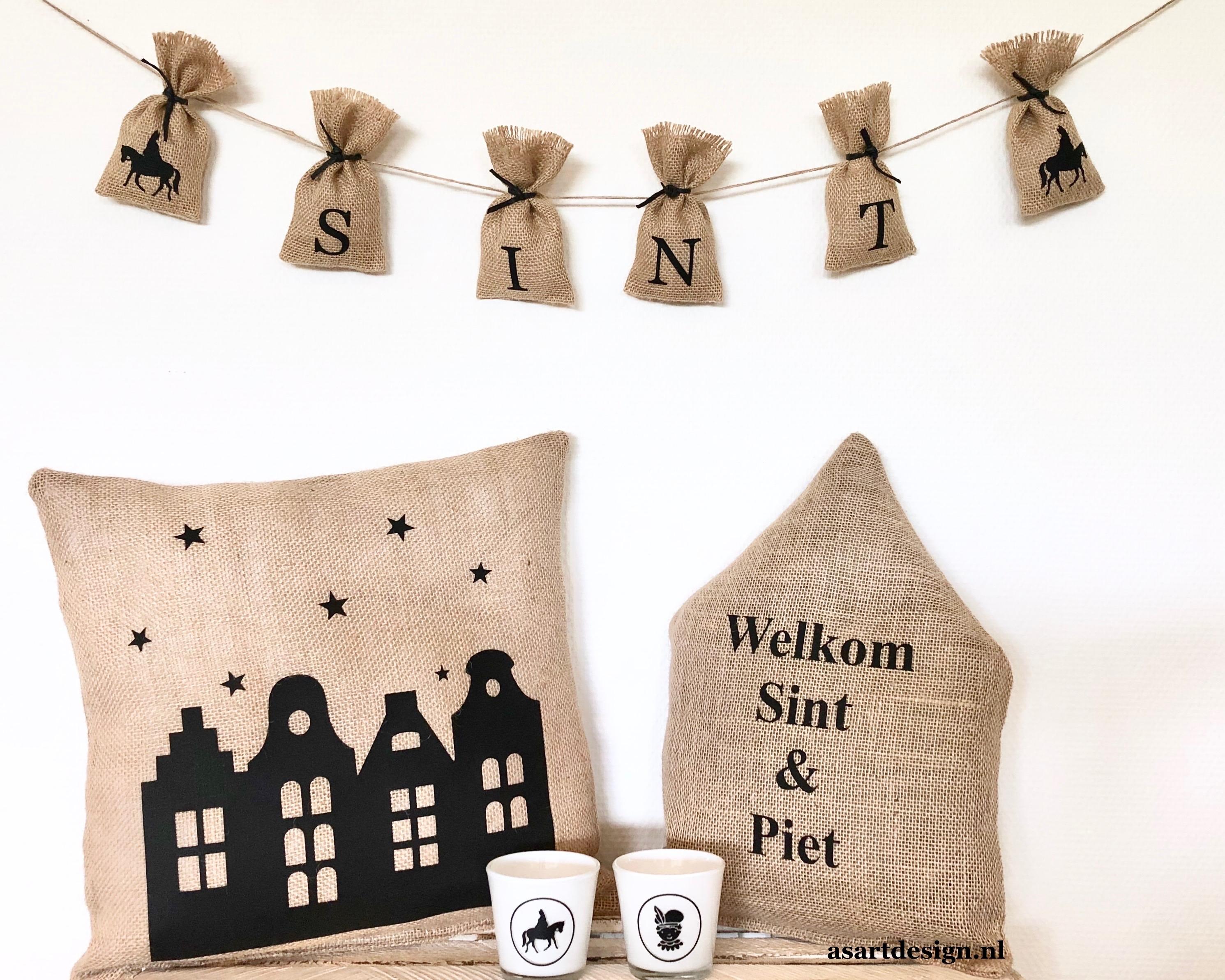 Sinterklaas decoratie | Sinterklaas slinger zakjes (6)