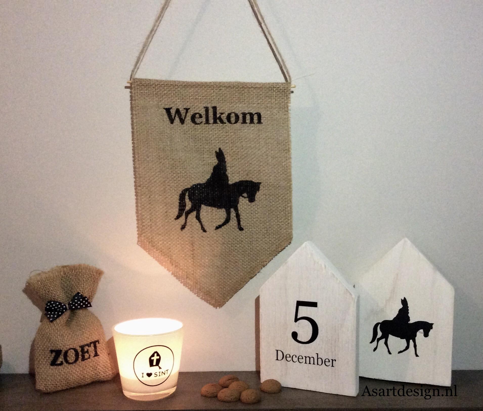 Sinterklaas decoratie | Sinterklaas vaantje