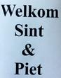 Sicker ' Welkom Sint & Piet'