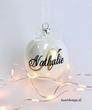 Kersdecoratie   Kerstbal met naam